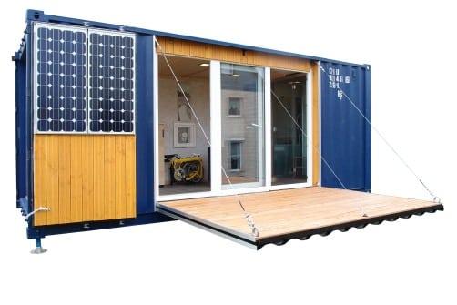 Container Zum Wohnen wohnen leben im container tipps für die container planung mo