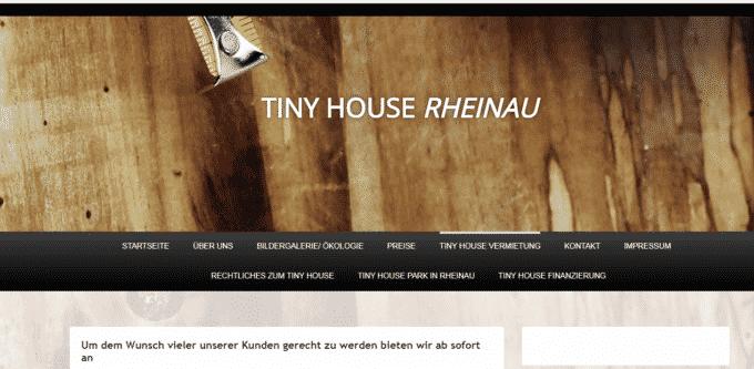 Tiny House Dorfer Und Grundstucke Mampo