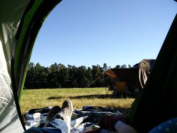 Zelten kann so schön sein